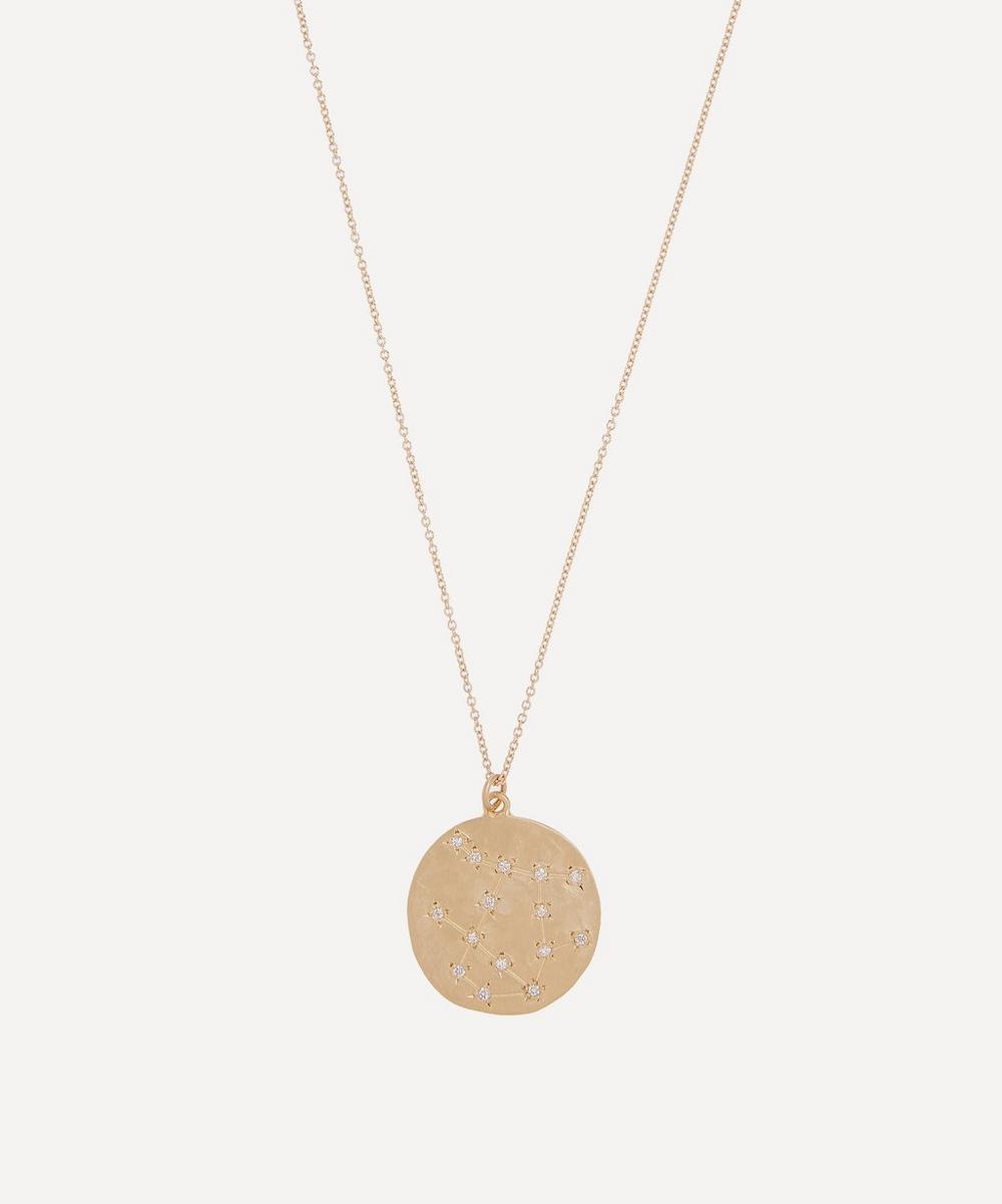 Brooke Gregson - Gold Gemini Astrology Diamond Necklace