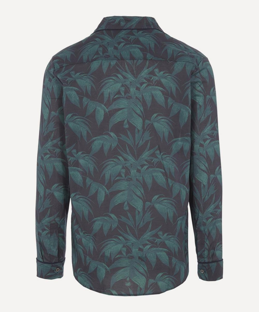 Byron Print Cotton Pyjama Shirt