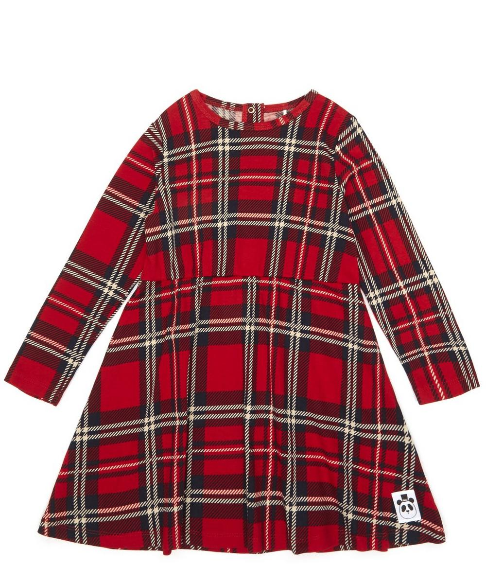 Red Check Long Sleeve Dress 12 Months-10 Years