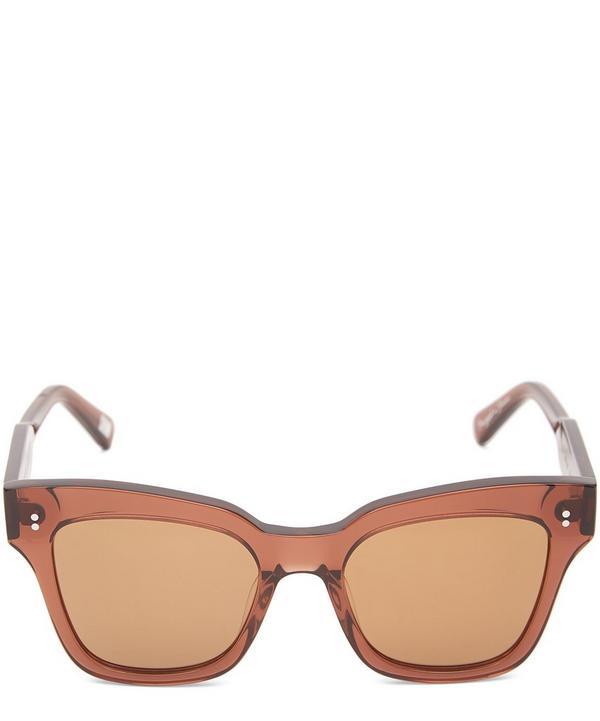 #005 Coco Square-Frame Acetate Sunglasses