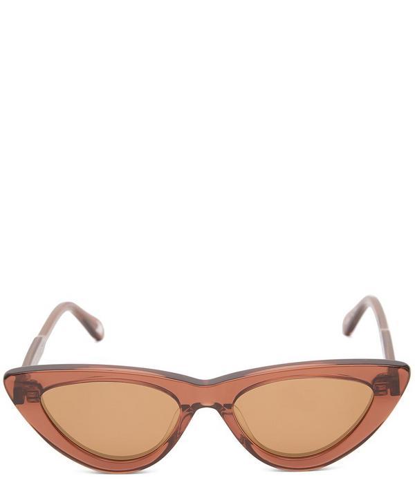 #006 Coco Cat-Eye Acetate Sunglasses