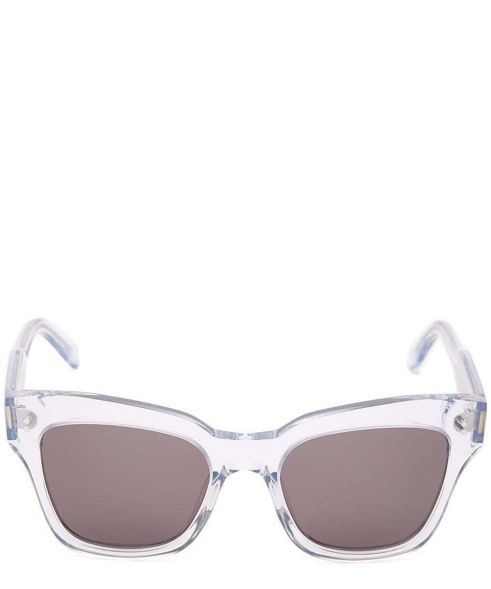 CHIMI 005 Litchi Square-Frame Acetate Sunglasses