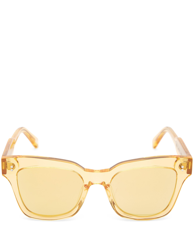 005 Mango Square-Frame Acetate Sunglasses   Liberty London