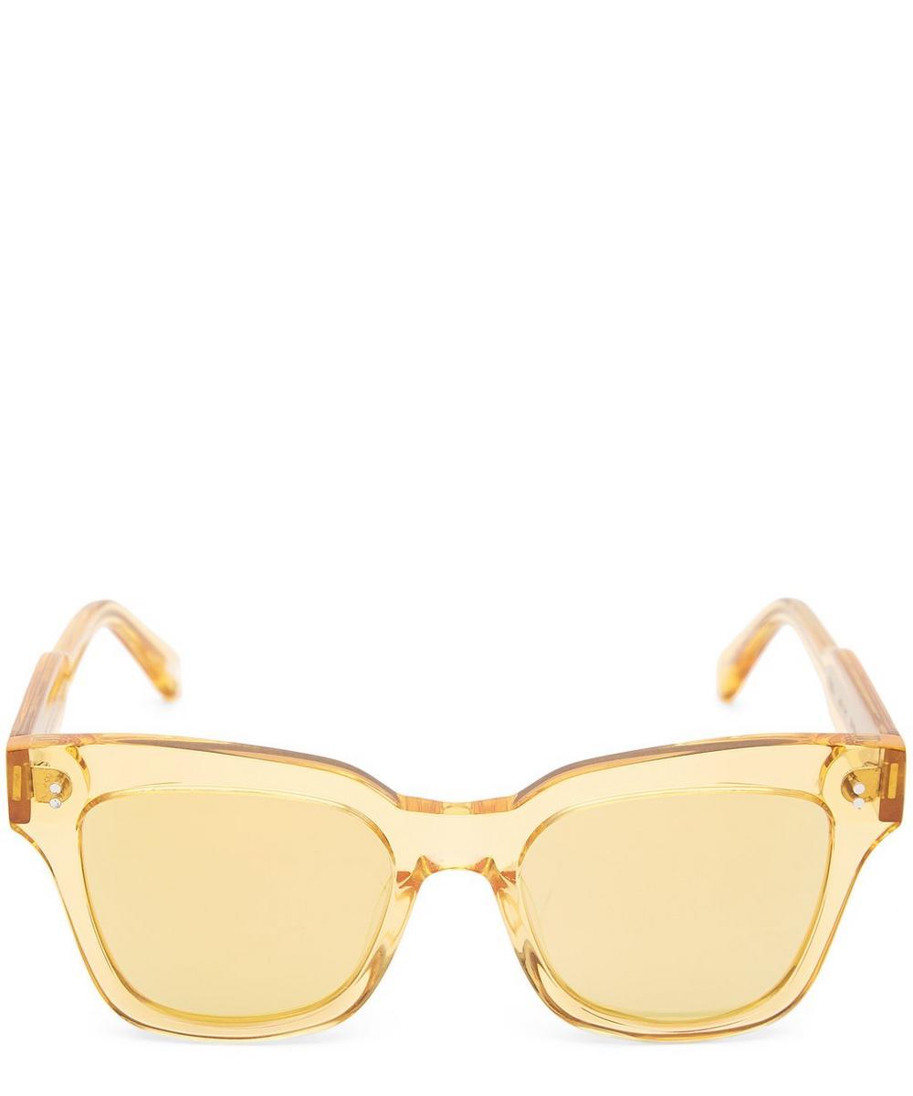 CHIMI 005 Mango Square-Frame Acetate Sunglasses in Green