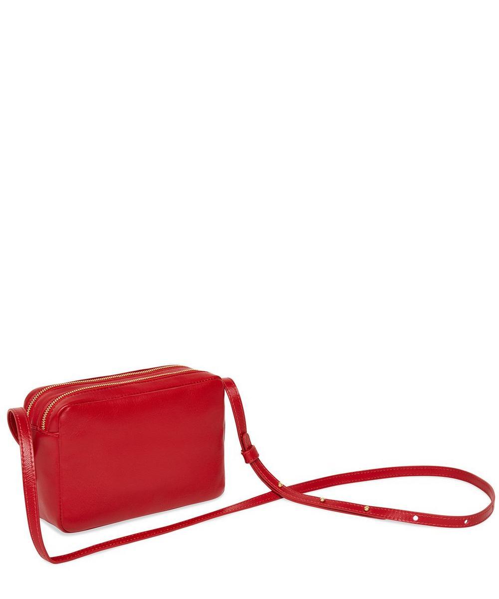 Double Zip Cross Body Bag