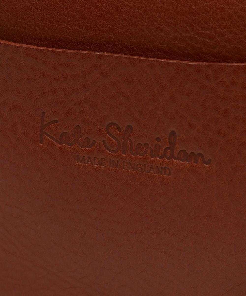 Leather Tab Bag
