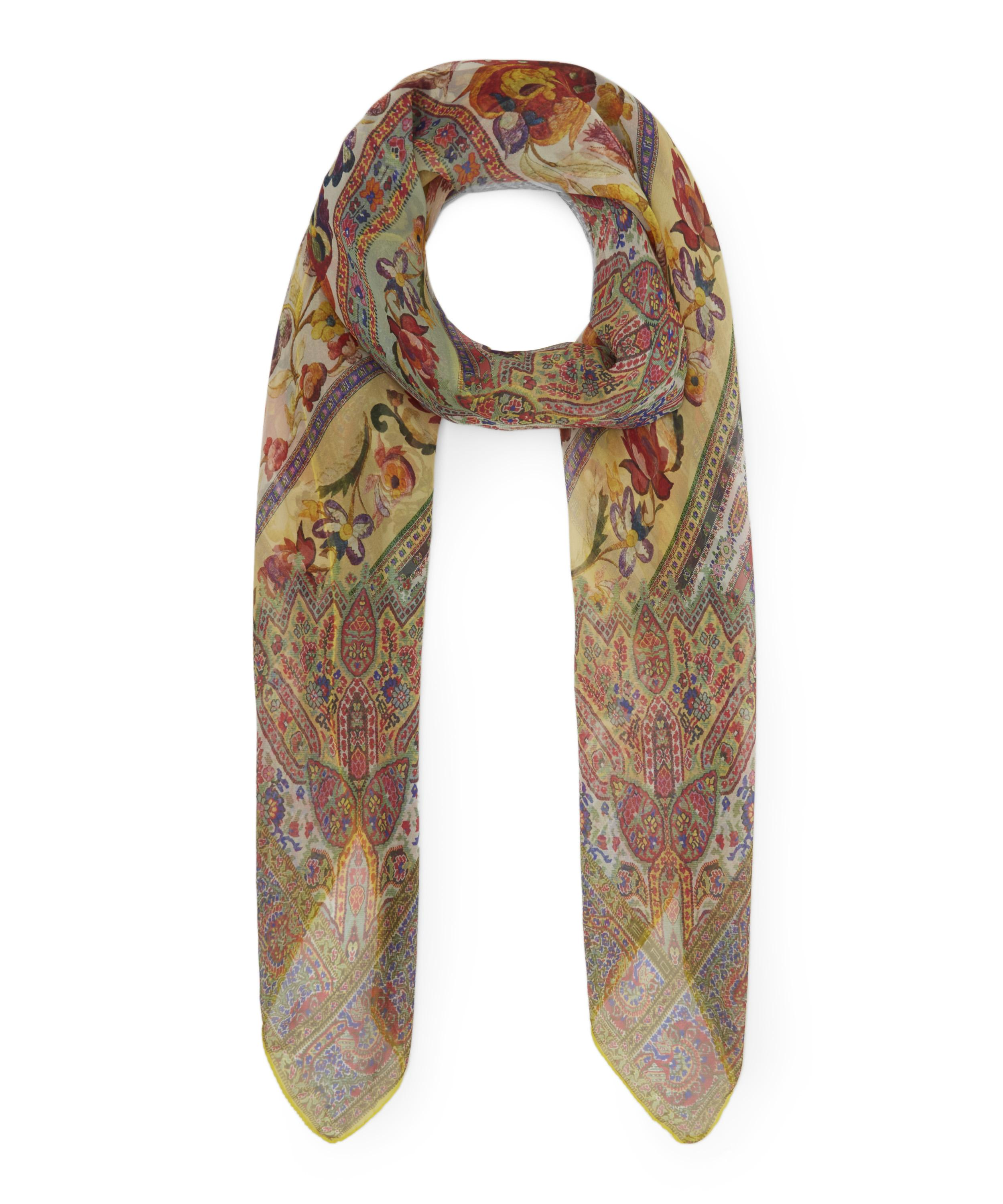 927683bcd Bombay Floral Paisley Silk Scarf | Liberty London