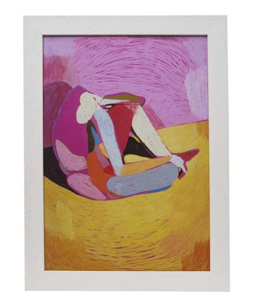Hester Finch Nude On Pink Framed Numbered Print