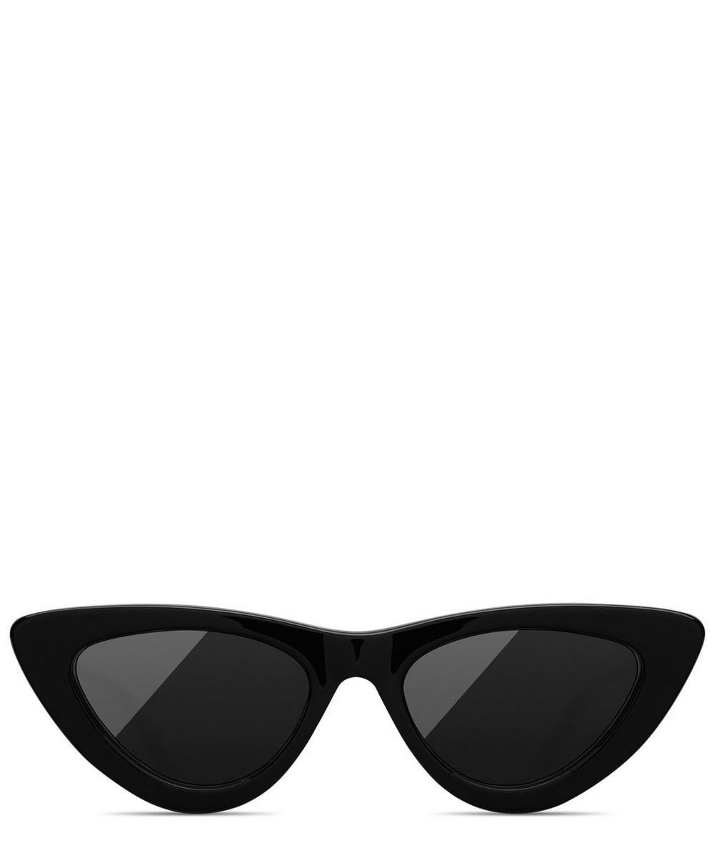 CHIMI 006 Berry Cat-Eye Acetate Sunglasses in Red
