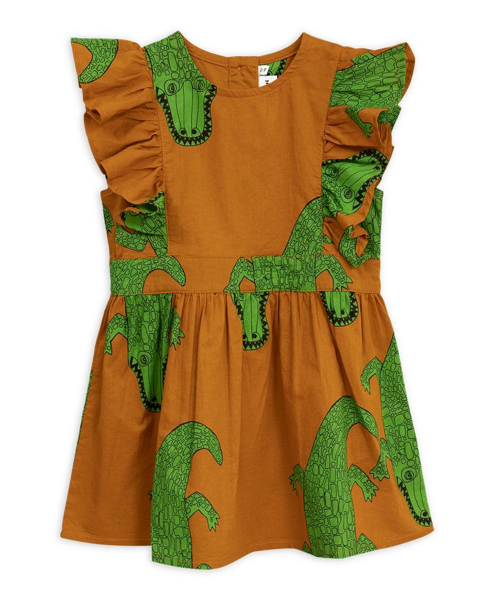 Crocodile Ruffled Dress 2-8 Years