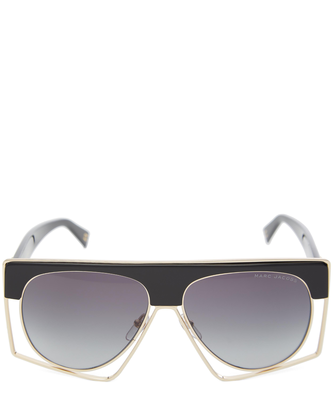 69e6b3895cbe Modern Square-Top Sunglasses   Liberty London