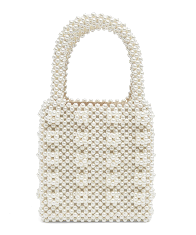 0946bda43d Antonia Classic Faux Pearl Bag