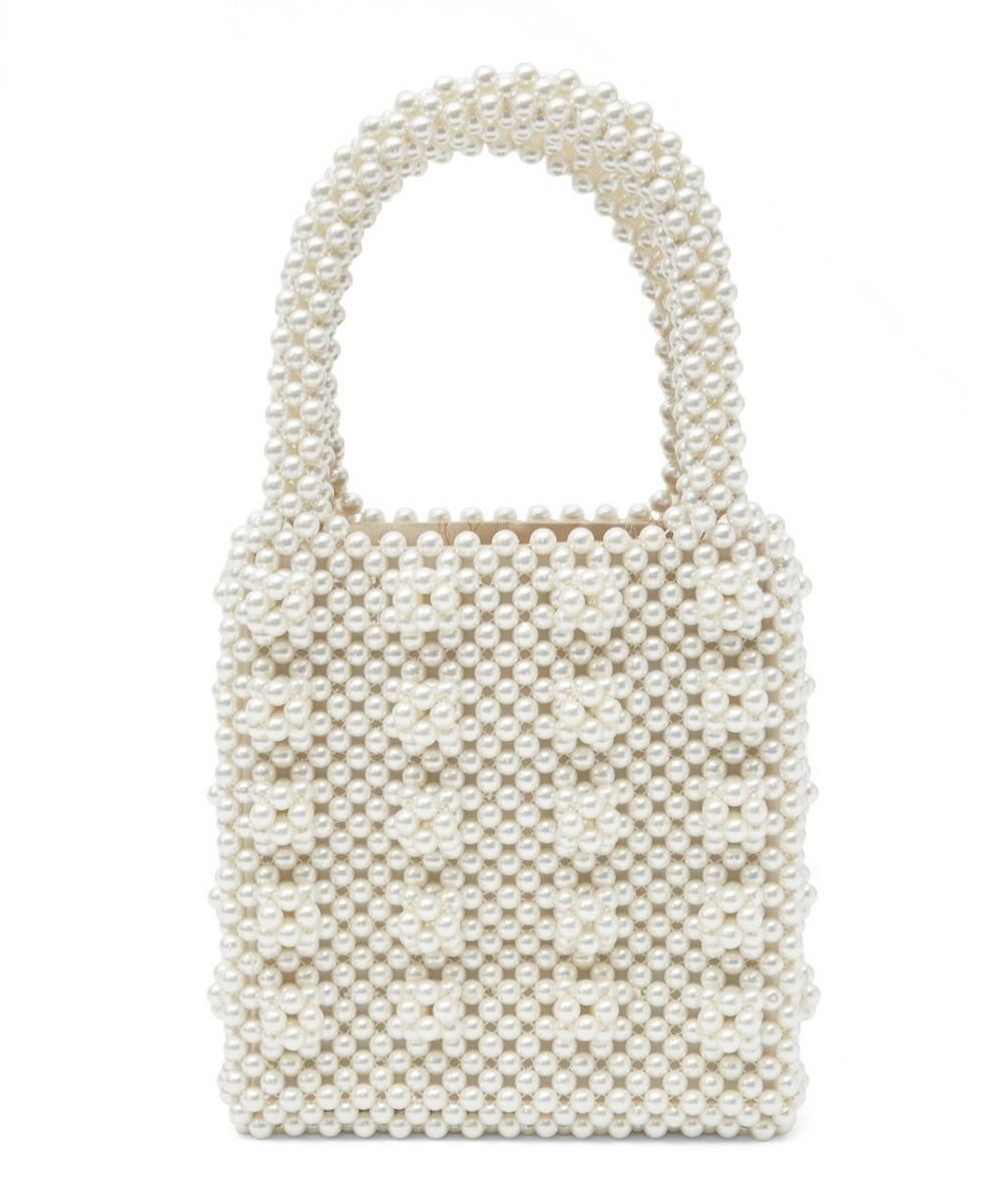 Antonia Classic Faux Pearl Bag