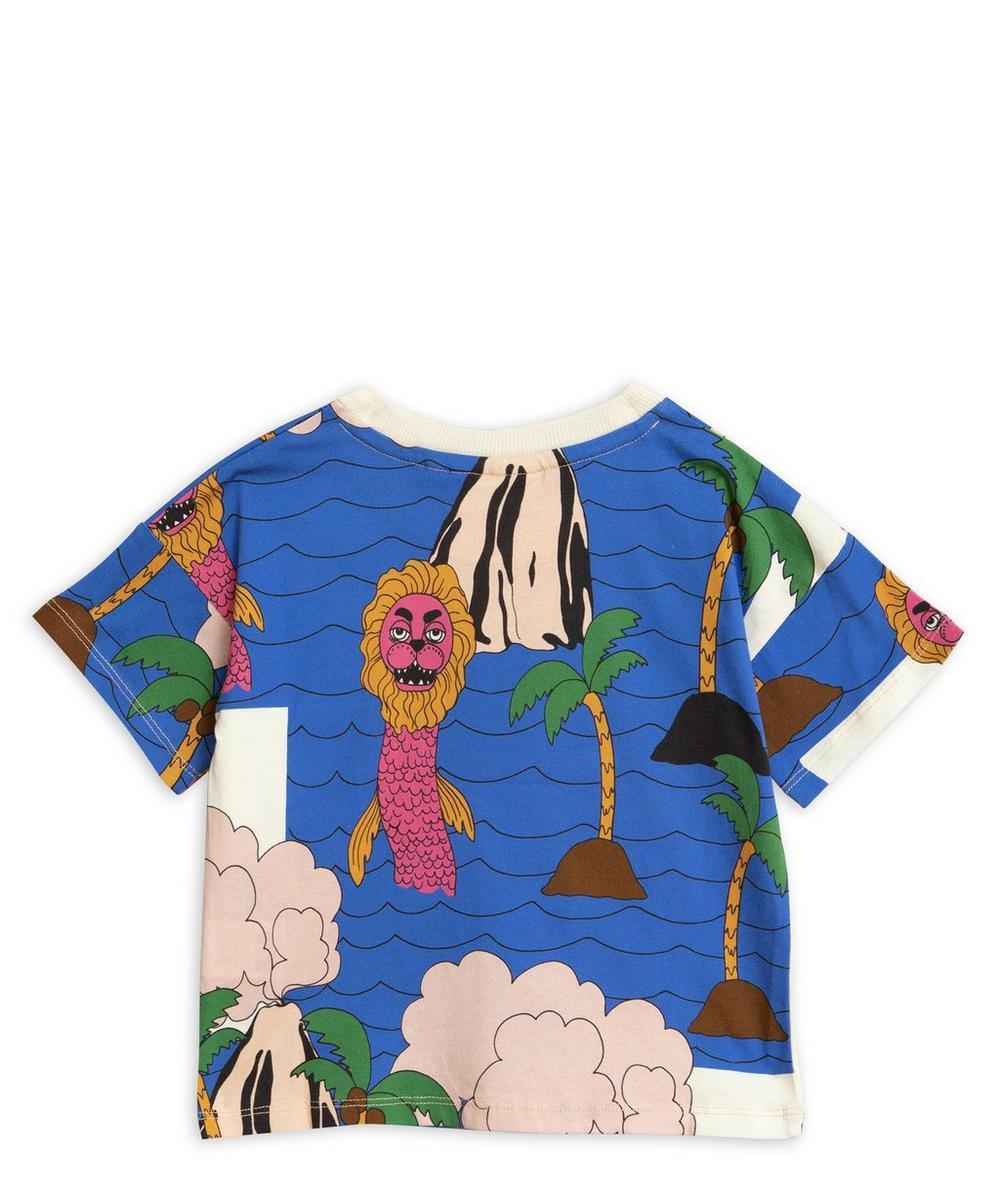 Sea Monster Short Sleeve T-Shirt 2-8 Years