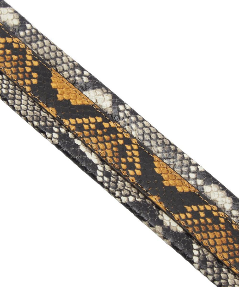 Python Print Stripe Shoulder Strap