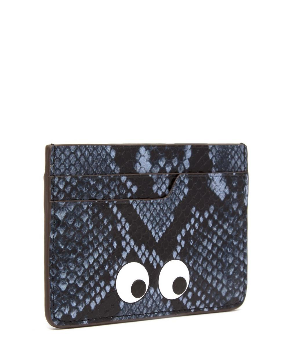 Python Print Eyes Card Case