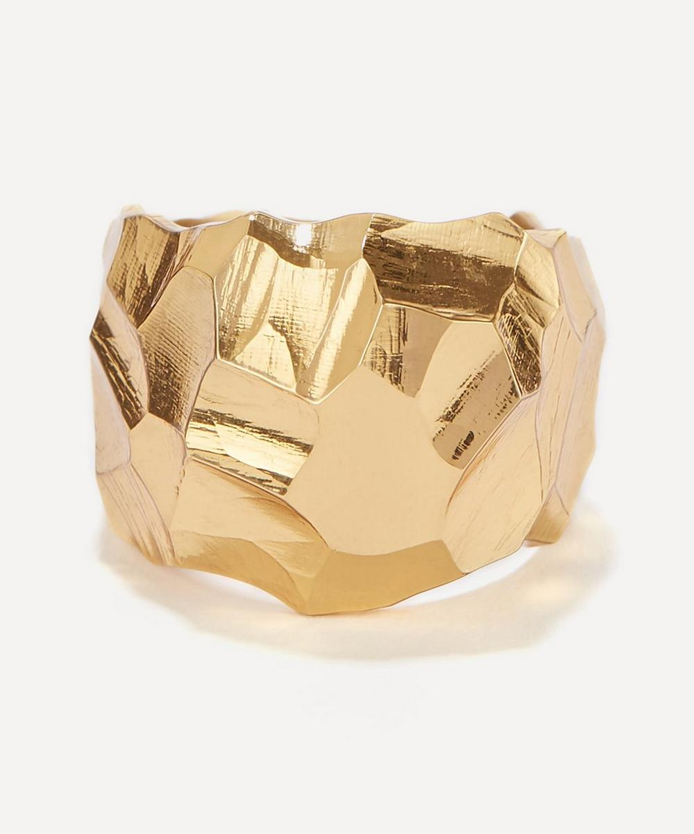 Gold Vermeil Rauk Wide Ring