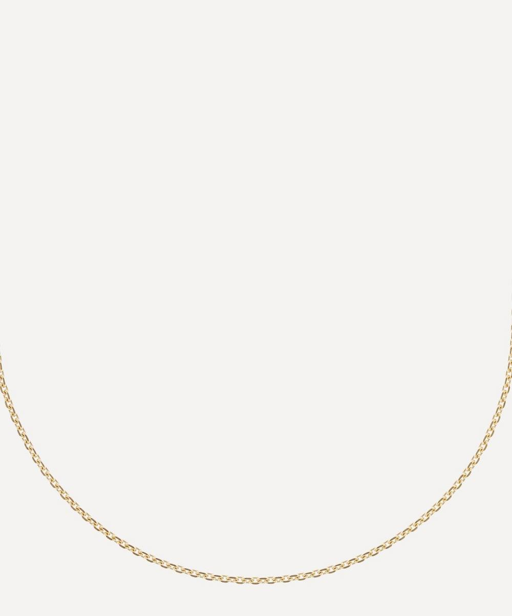 Gold Vermeil String Necklace