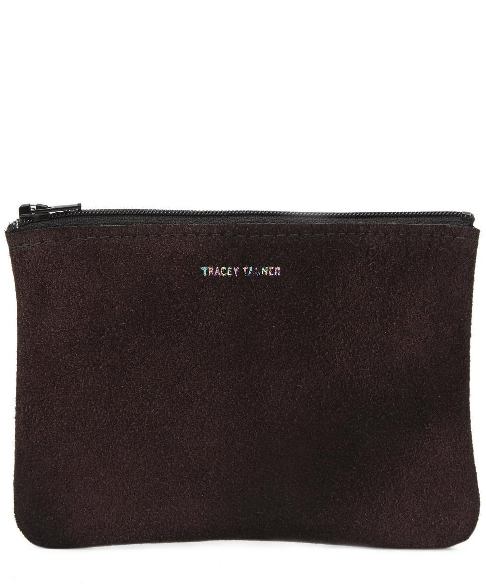 Medium Leather Zip Pouch