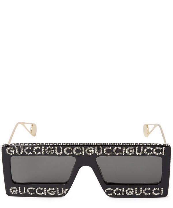 93767c0445f Gucci Logo Sunglasses Gucci Logo Sunglasses