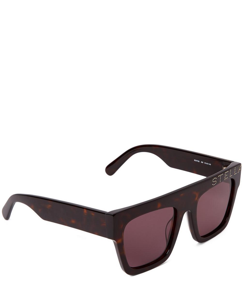 Bio-Acetate Square Sunglasses