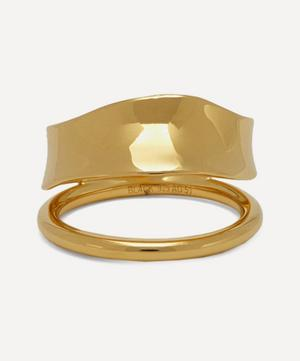 Gold-Plated Midnight Ring
