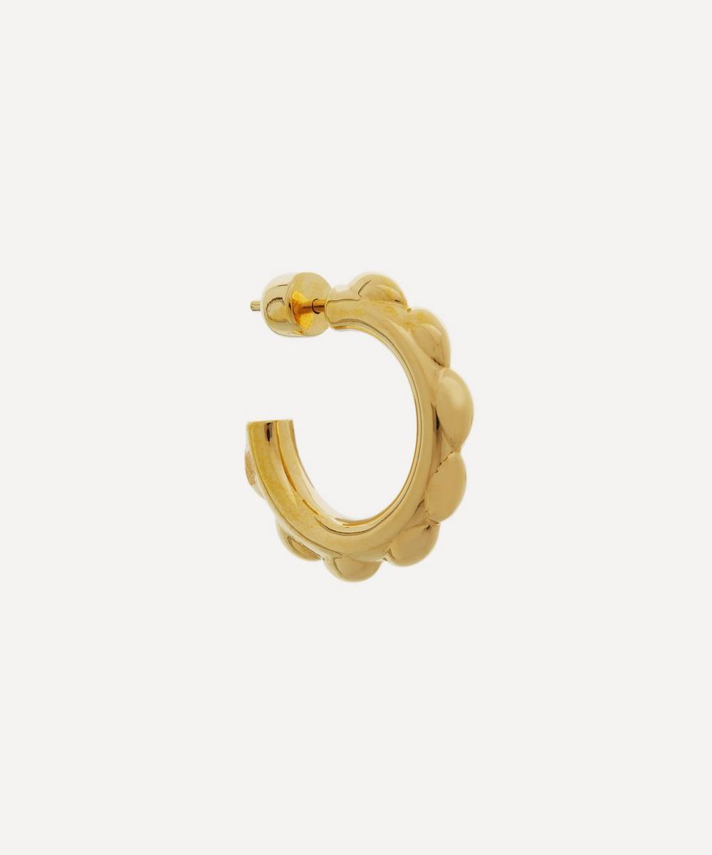 Maria Black - Gold-Plated Poppy Single Hoop Earring