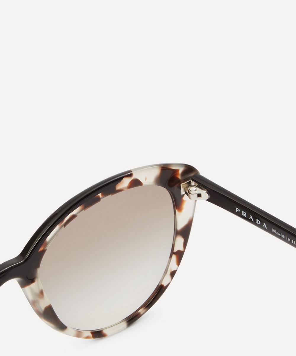 4a35b4e2c73a Ultravox Curved Cat-Eye Sunglasses | Liberty London