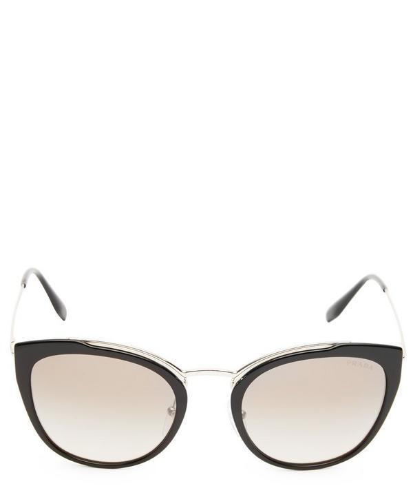 96d34618c6 Rounded Cat-Eye Sunglasses ...