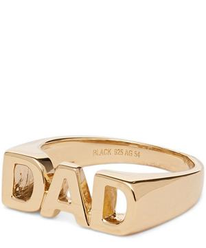 Gold-Plated Dad Ring