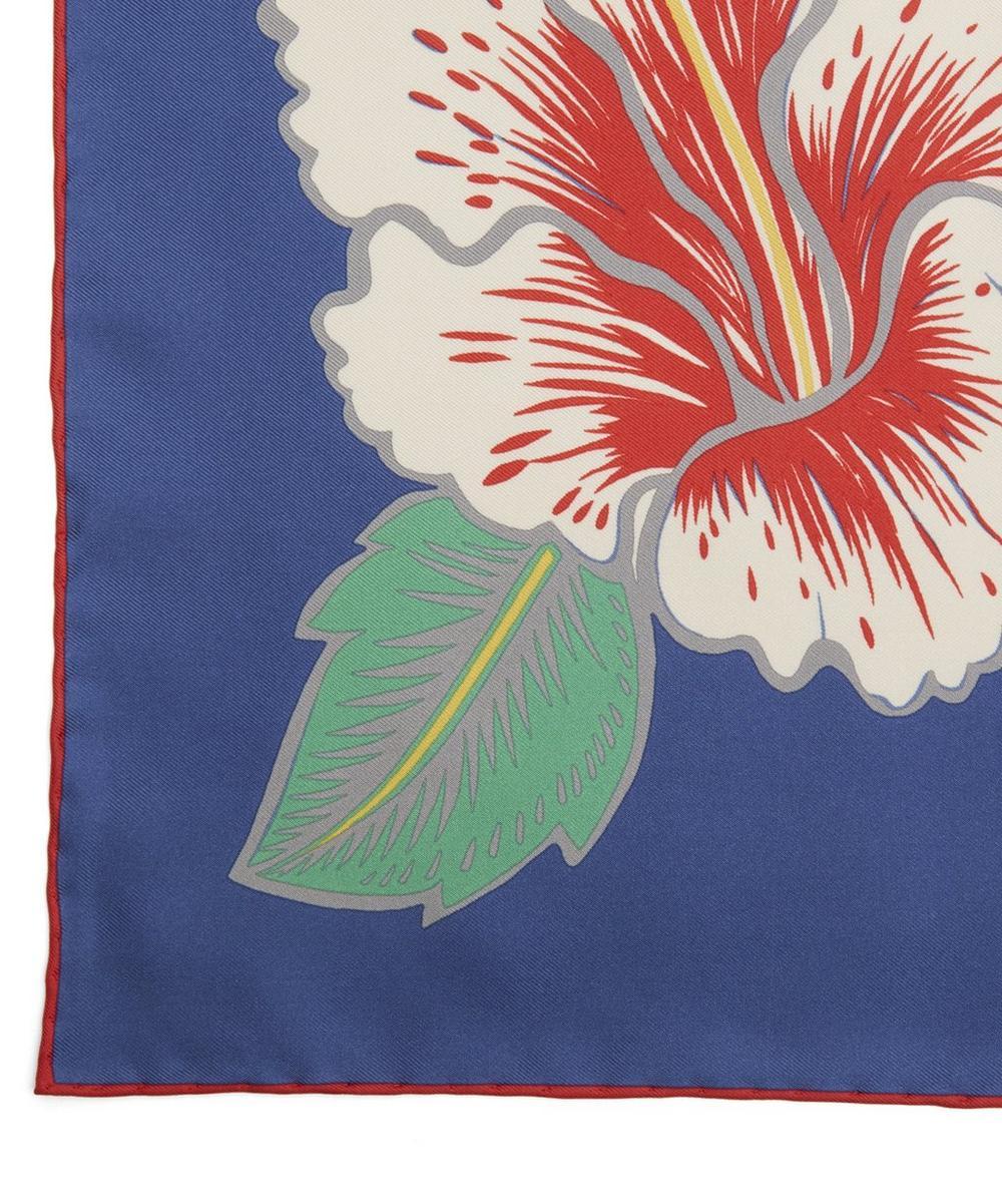 Flower Silk Foulard