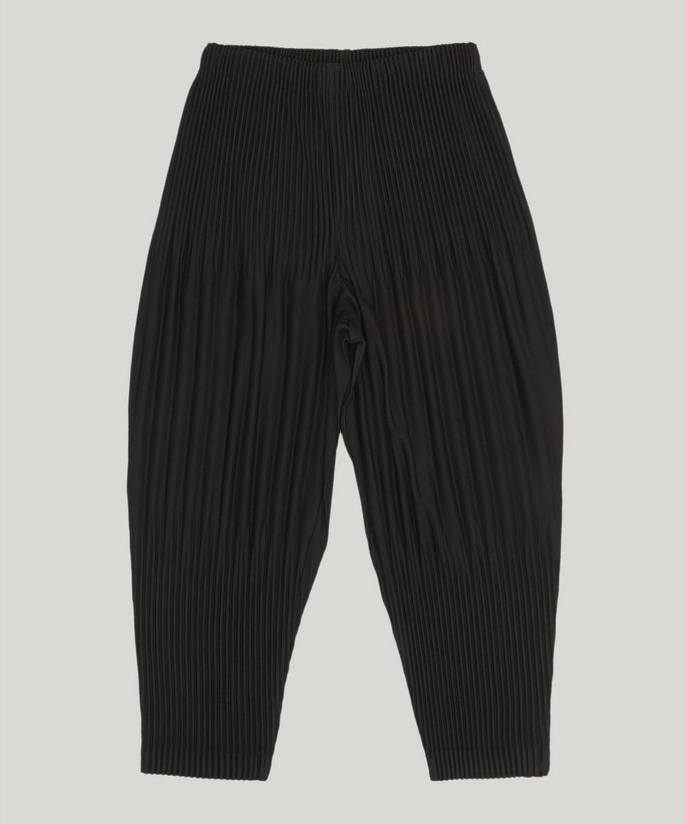 Pleats Please Issey Miyake TAPERED BASIC TROUSERS