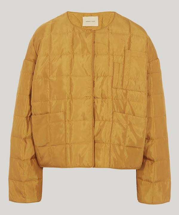 Mateo Collarless Quilted Jacket