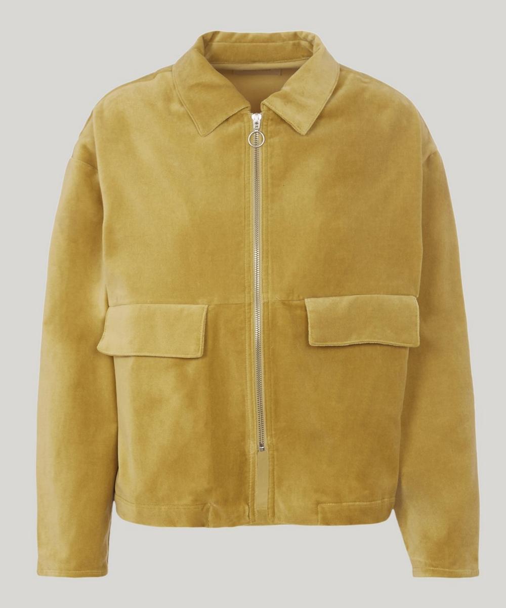 Jawara Cotton Velvet Zip Jacket