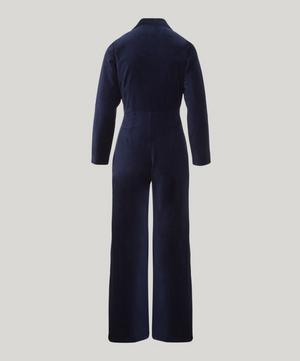 Paufi Cotton Velvet Jumpsuit