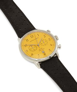 S83 Black Leather Strap Watch