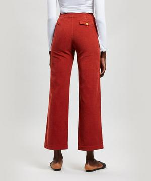 Lagos Wide Leg Corduroy Trousers