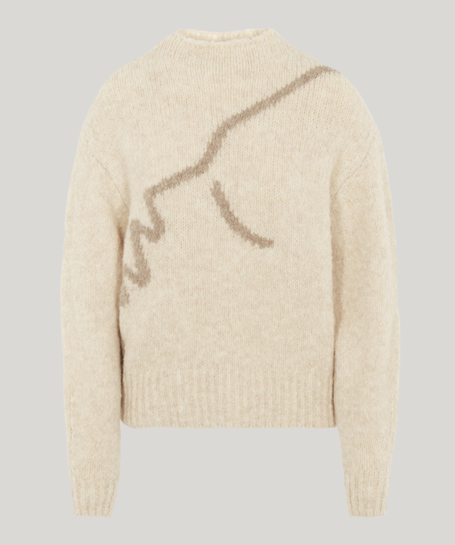 Virgo Intarsia Knit Sweater Liberty London