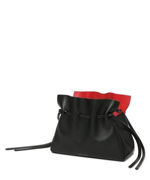 Mini Lambskin Protea Drawstring Bucket Bag