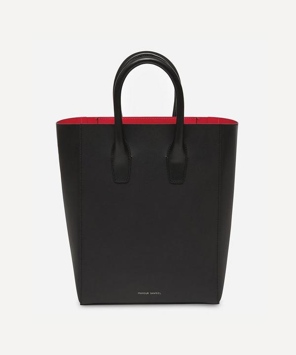 a85a06f673c0 Leather Mini NS Tote Bag ...