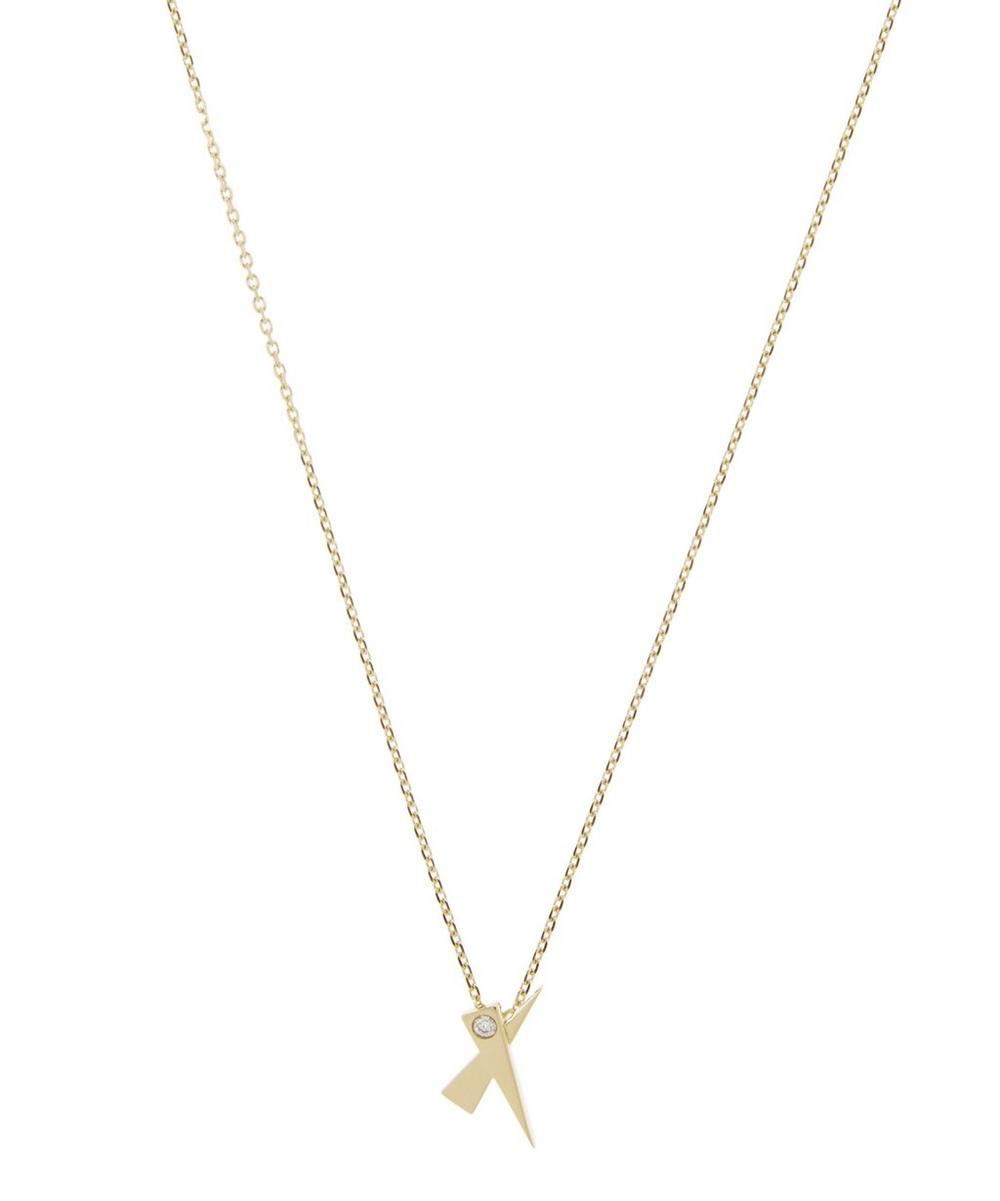 DAOU Gold Kiss Diamond Pendant Necklace