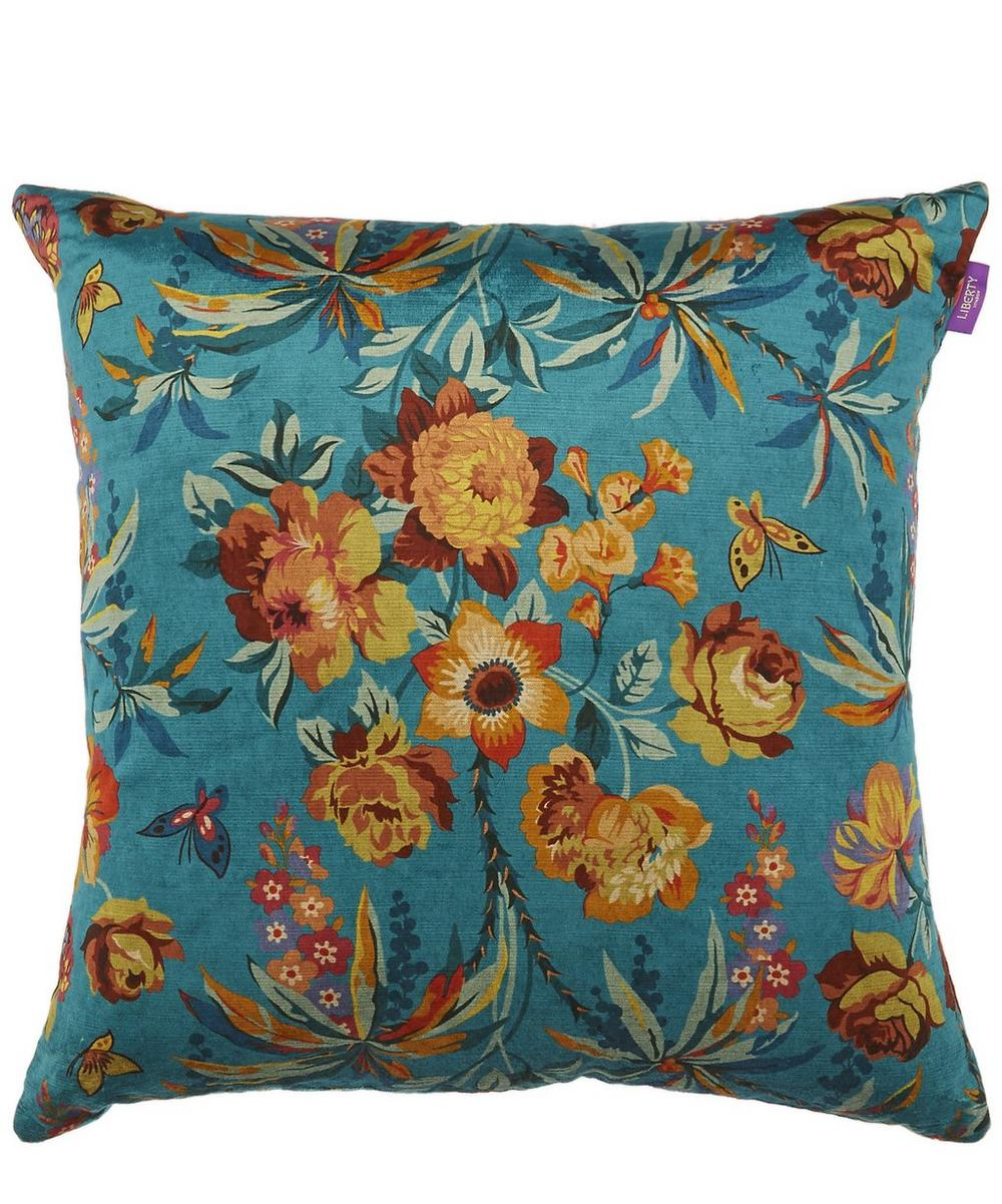 Layla Velvet Square Cushion