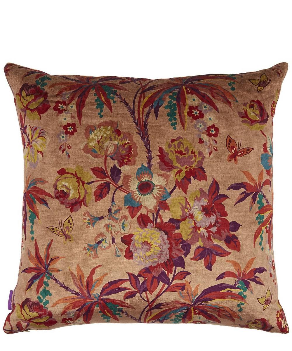 Layla Velvet Square Cushion