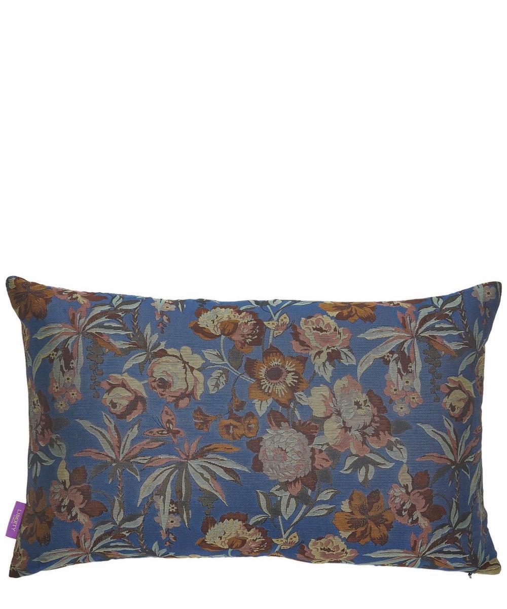 Layla Silk Jacquard Oblong Cushion