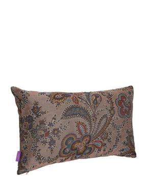 Mala Silk Jacquard Oblong Cushion