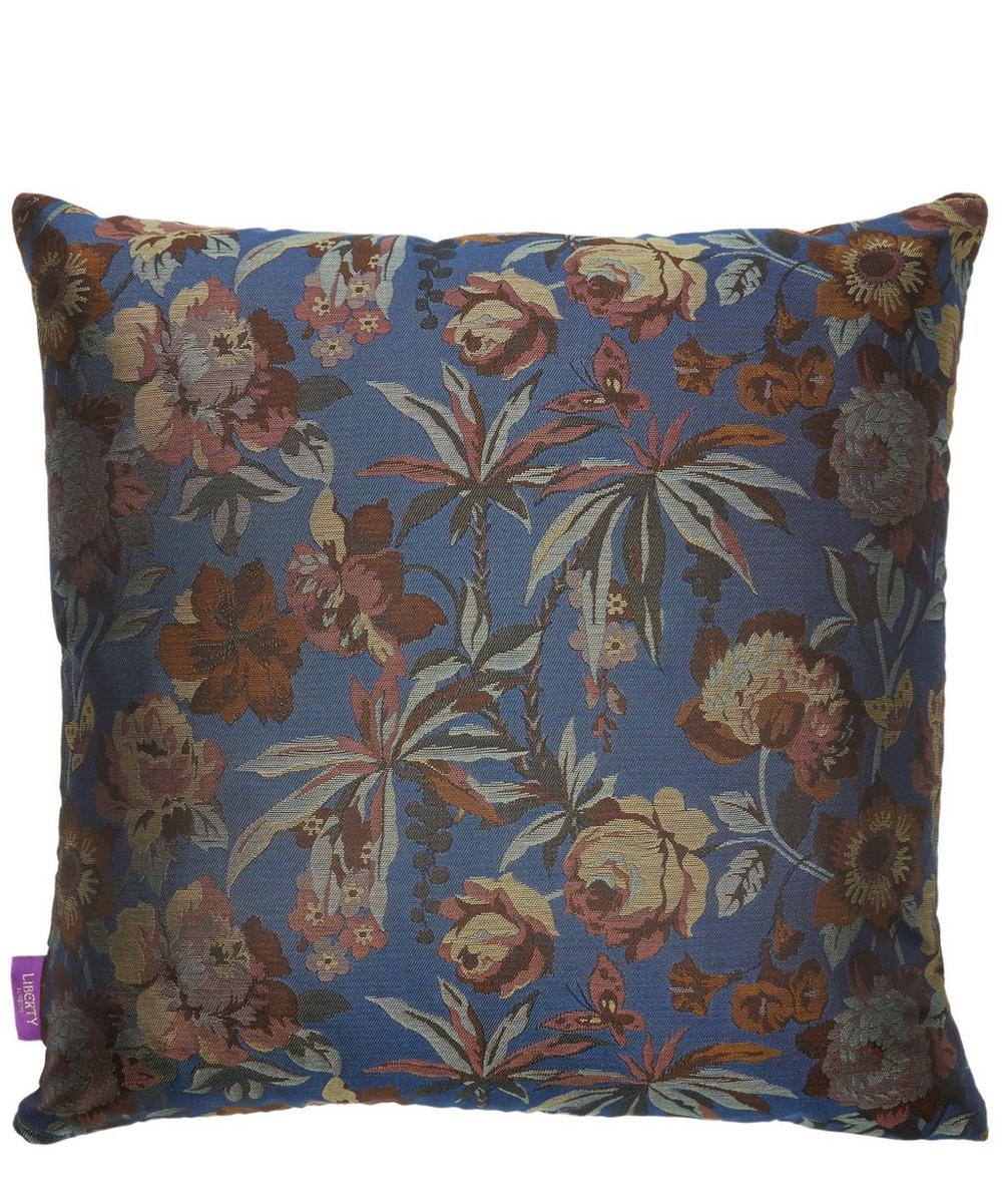 Layla Silk Jacquard Square Cushion