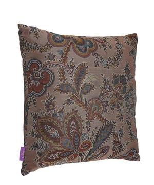 Mala Silk Jacquard Square Cushion