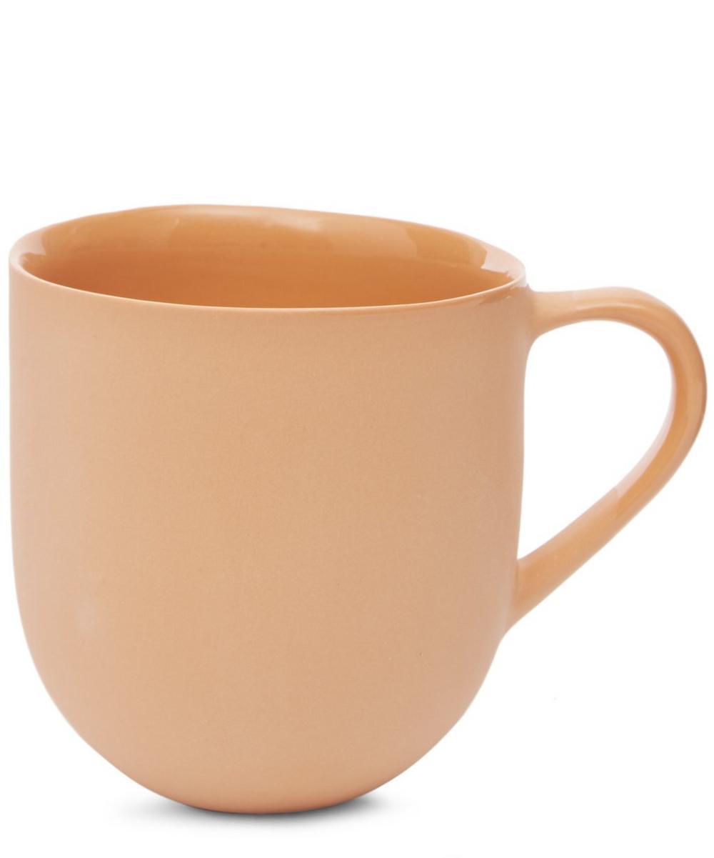 Round Porcelain Mug