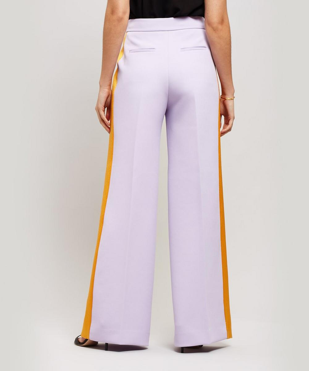 Roma Crêpe Wide-Leg Trousers