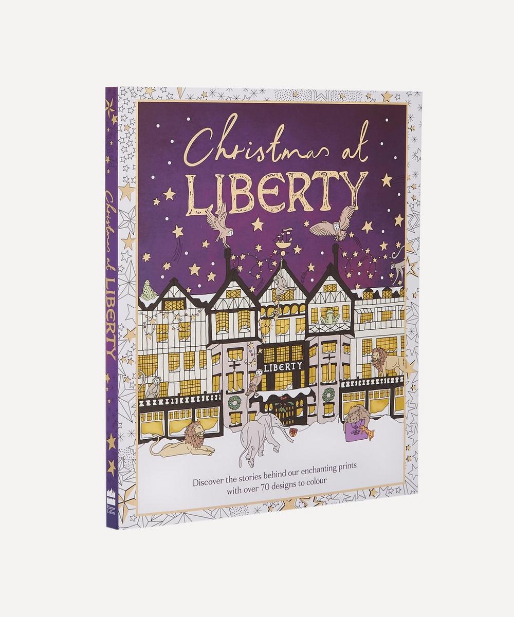 Christmas at Liberty Colouring Book